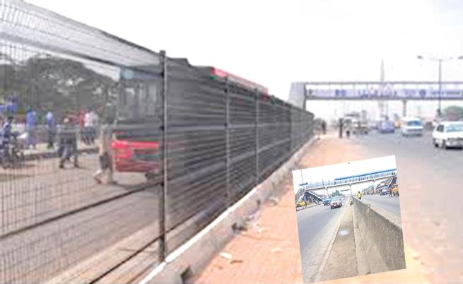 Lagos' fences are collapsing