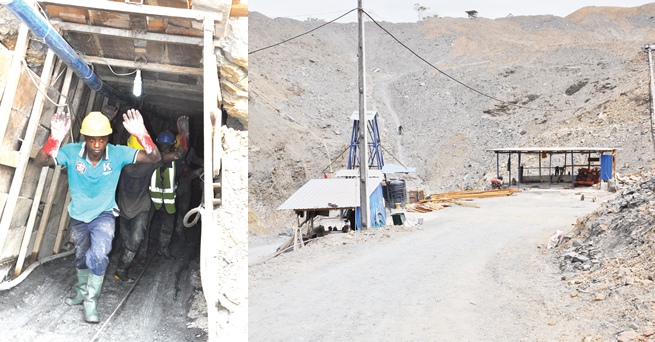On the trail of illegal miners