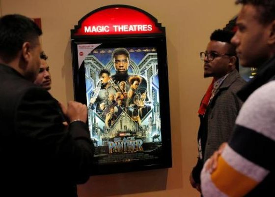 'Black Panther' smashes box office records with $218m