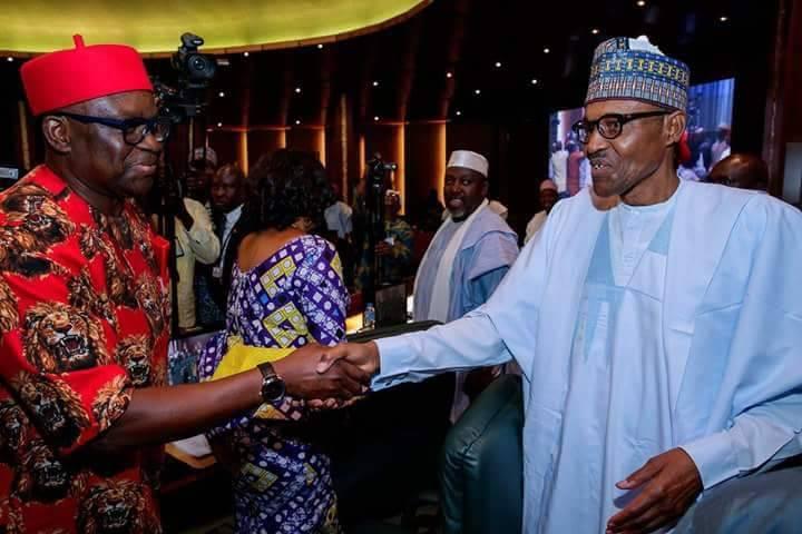 Finally, Fayose meets Buhari (PHOTO)