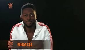 BBNaija: Again, Miracle wins N200,000 wager