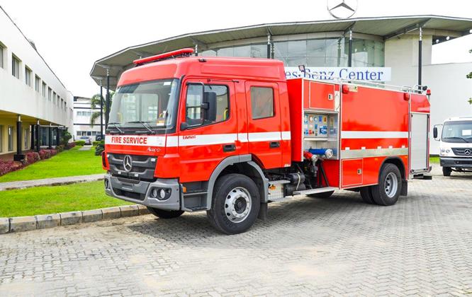 Weststar commences distribution of firefighting trucks