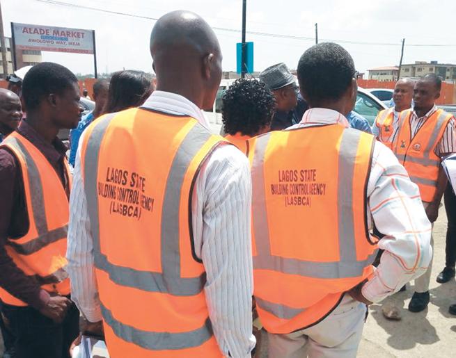 Lagos tackles illegal conversion of Ikeja buildings