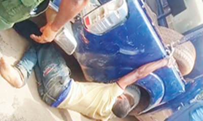 Police brutality!: I was bundled into car boot, asked to pay N1m or face robbery charge –Victim
