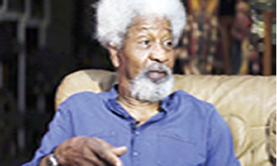 Soyinka: Nobody should be crucified for defection