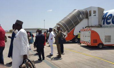 BREAKING: Plane crash averted as Medview plane aborts flight to Maiduguri, applies emergency brakes on runway