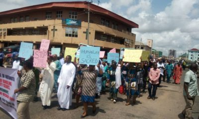 Activities grounded as Catholics defy downpour to protest wanton killings in Edo