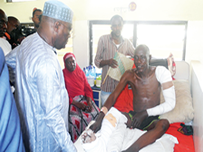 MUBI BOMB ATTACKS: I woke up to realise one of my legs had been amputated –Survivor