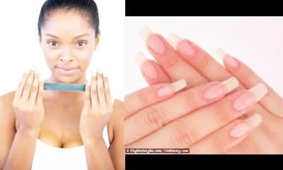 DIY nail growth polish