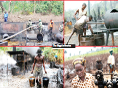 Illegal refiners on the prowl