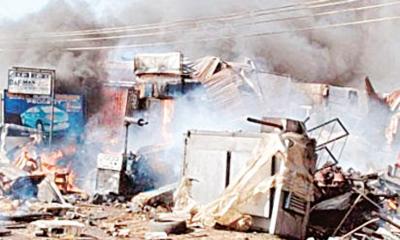 Suicide bomber kills seven in Borno
