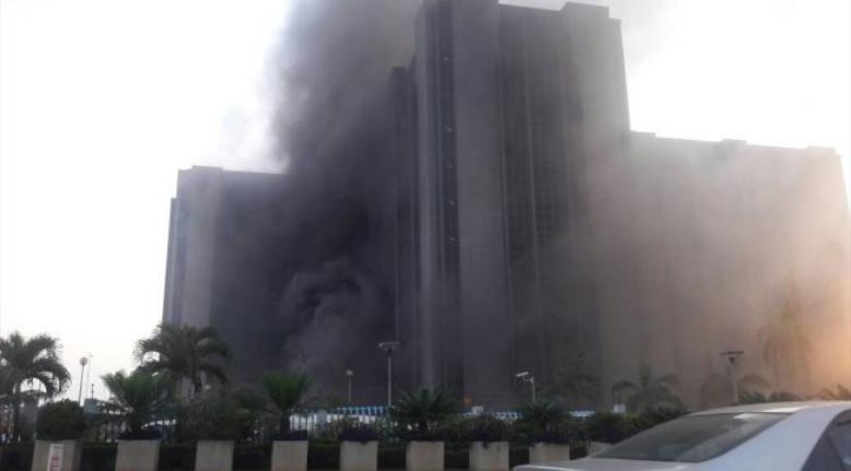 Fire outbreak at CBN headquarters in Abuja (UPDATED)