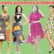 Dreamy asymmetrical hemlines