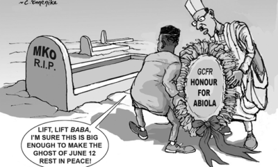 Historic June 12, honour for Abiola