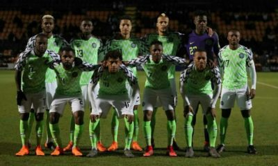 FIFA Ranking: Nigeria drops to 41st position