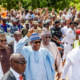 Buhari Treks 800 Metres Back Home After Eid El-Kabir Prayer In Daura