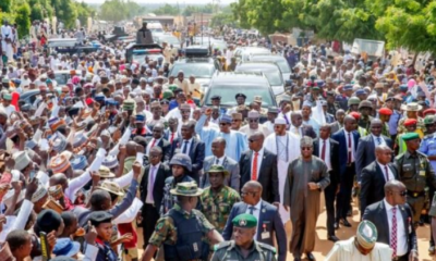 800 metres trek:  Buhari has shown he is fit for another term – Presidency