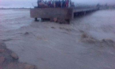 PHOTOS: Bridge linking Gombe, Adamawa, Borno states completely cut off