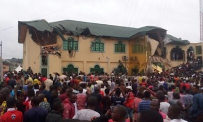 PHOTOS, VIDEO: Oyo govt demolishes Yinka Ayefele's N800million music house