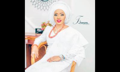 Alaafin's wife, Queen Olaitan in great mood