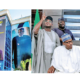 Buhari inspects campaign office, returns to London