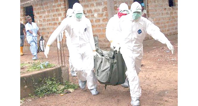 Ebola: Still a long  walk to safety in Africa