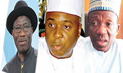 How Jonathan sealed Kwara deal for Saraki