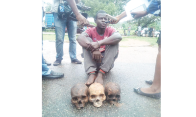I wanted to use human skulls for money rituals –Suspect