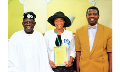 Remi Tinubu becomes pastor at Redeemed Christian Church of God