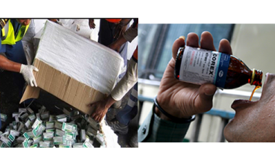 Tramadol: We're profiling countries of shipment to block sources –NAFDAC