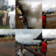 JUST IN: Youths burn down police station over shooting of undergraduate by SARS