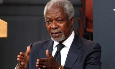 BREAKING: Former UN Secretary-General, Kofi Annan, is dead