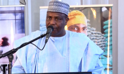 2019 Presidency: Tambuwal fires back at Tinubu