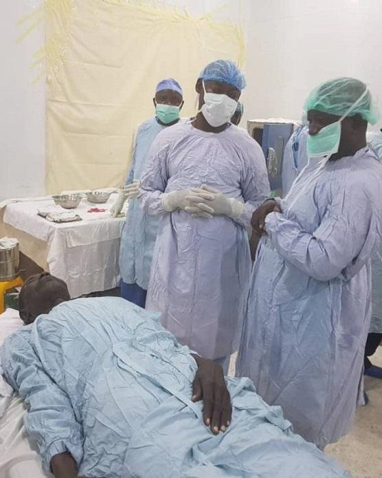 Photos: Free eye treatment in Bauchi…thousands benefit