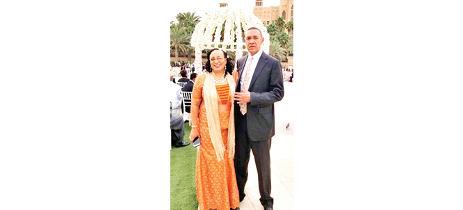 Ben Bruce reassures wife at 40th wedding anniversary