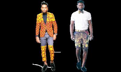 Edgy Ankara styles for men