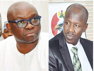 JUST IN: Fayose accuses EFCC of coercing witness to lie against him