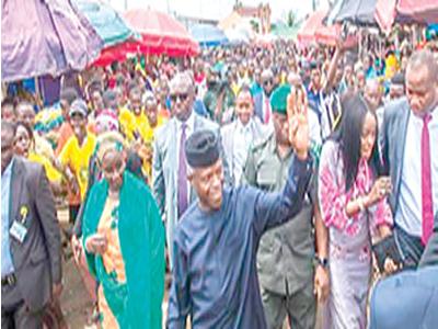 When Osinbajo went to market