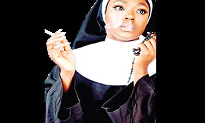 Nigerians knock Beverly Osu over seductive Nun picture