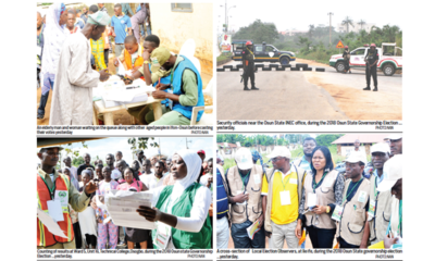 Osun Decides: APC in early lead as Omisore, Adeleke, Adeoti deliver strongholds