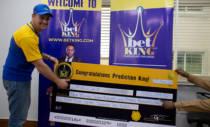 Image result for Man Wins N9,700,000 on BetKing Sports
