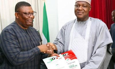 Dogara officially dumps APC, submits PDP nomination form