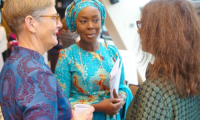 UNGA: Toyin Saraki makes case for midwives, frontline health workers