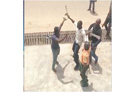 Mayhem in Lagos: Govt officials attack residents with machetes