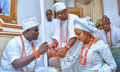 Ooni marries evangelist as new wife
