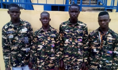PHOTO: Police arrests four cultists, six robbery suspects in Benue