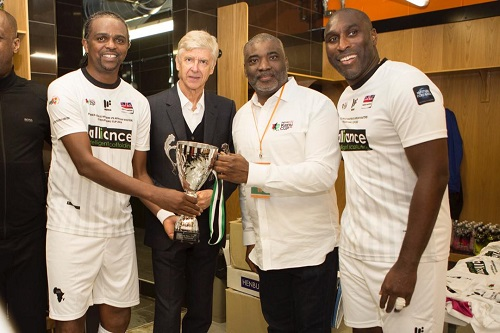 Legends' Charity Match: Kanu Lauds Petrolex, Other Sponsors For Successful Event